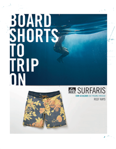 Reef Boardies SS17 (Article Ad)