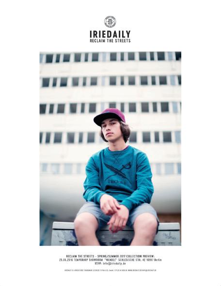Iriedaily SS17 Streetwear (Article Ad)