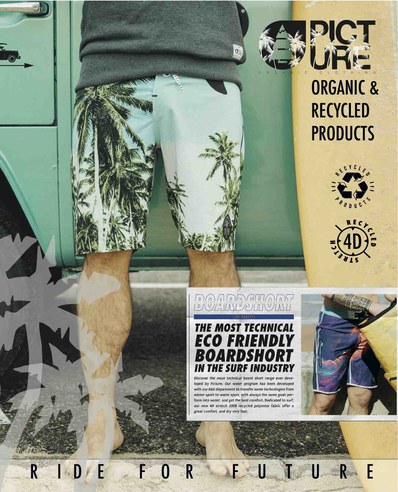 Picture Organic Clothing Boardies SS17 (Article Ad)