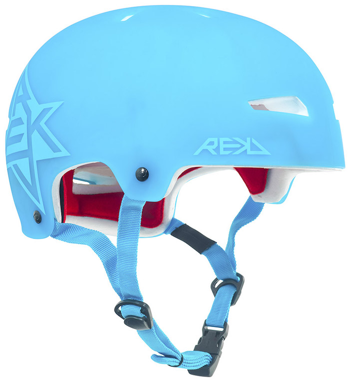 NEW PRODUCT R165 REKD Elite Icon Semi-Trans Helmet Blue Main