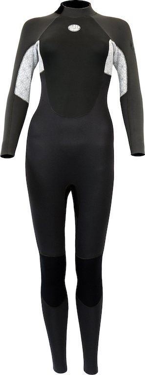 Stealth Lady Black/White Wetsuit