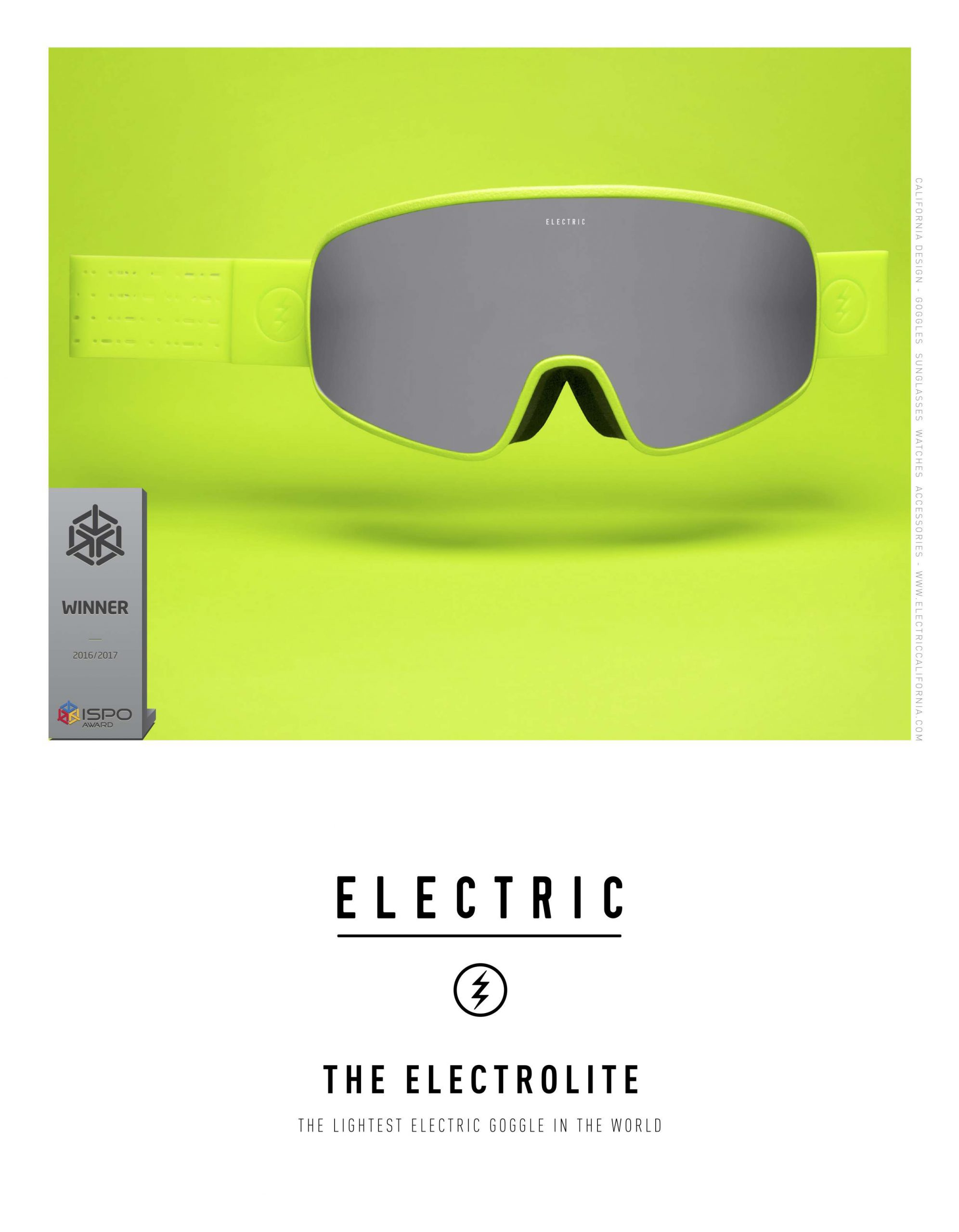 84 Electric SNOW GOGGLE