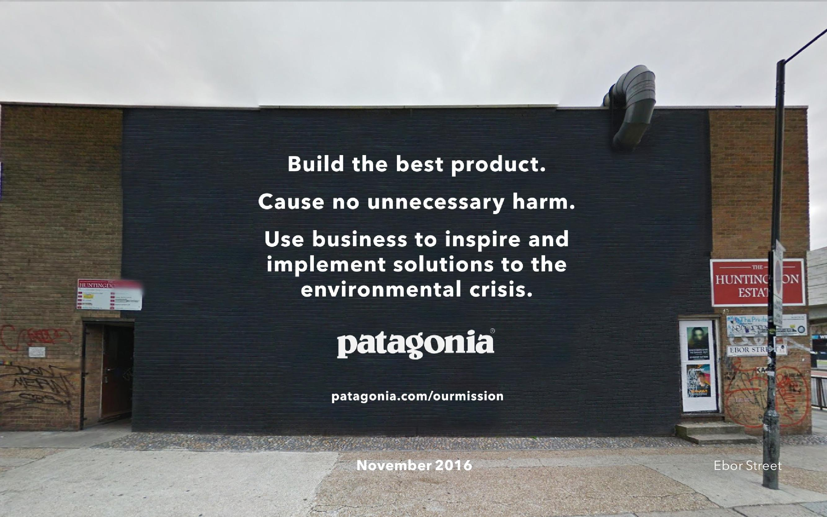 Patagonia Launch Uk Campaign Set To Take Over Shoreditch