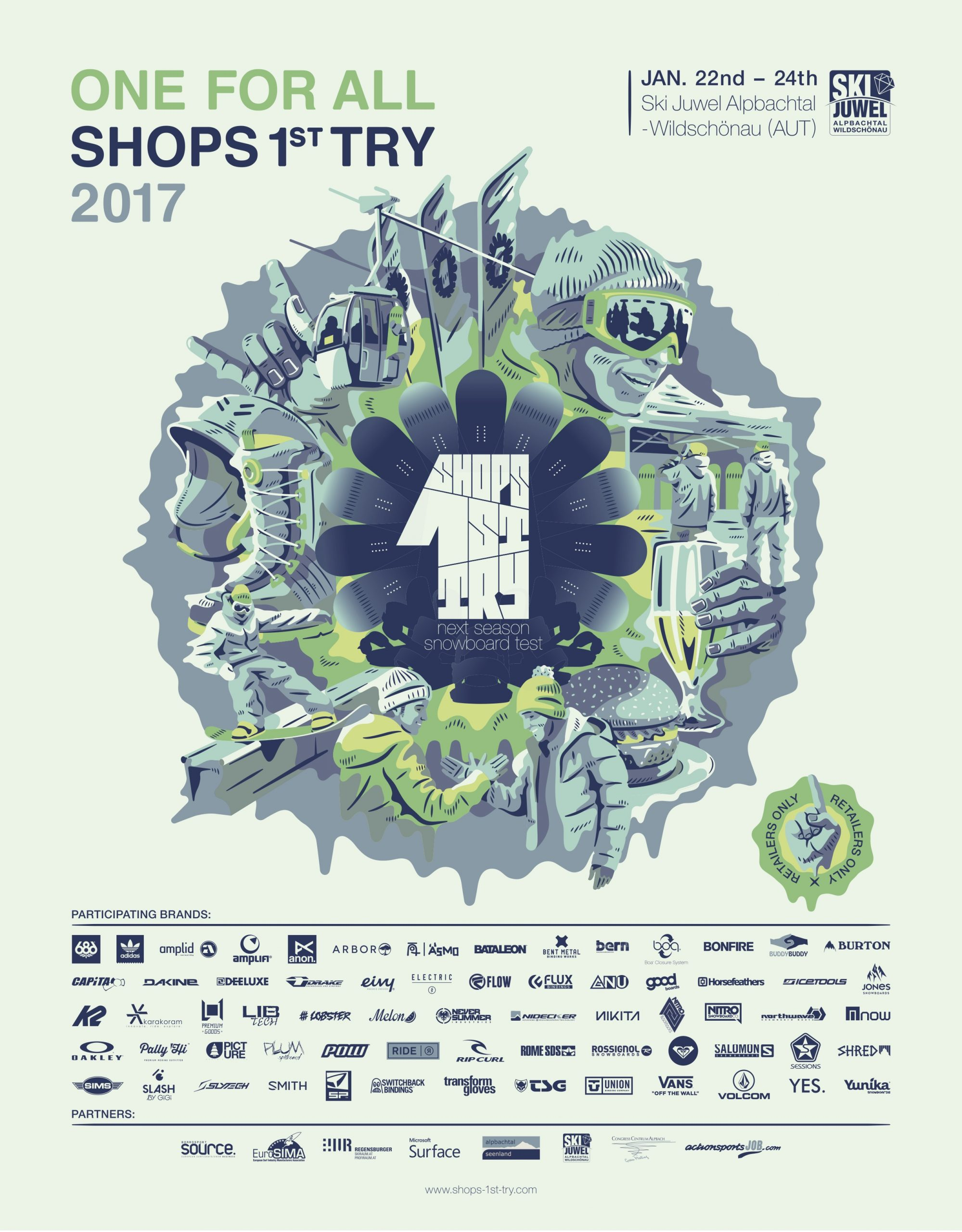 84 Shops 1st Try SNOW