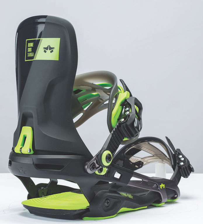 Targa Black Acid Bindings