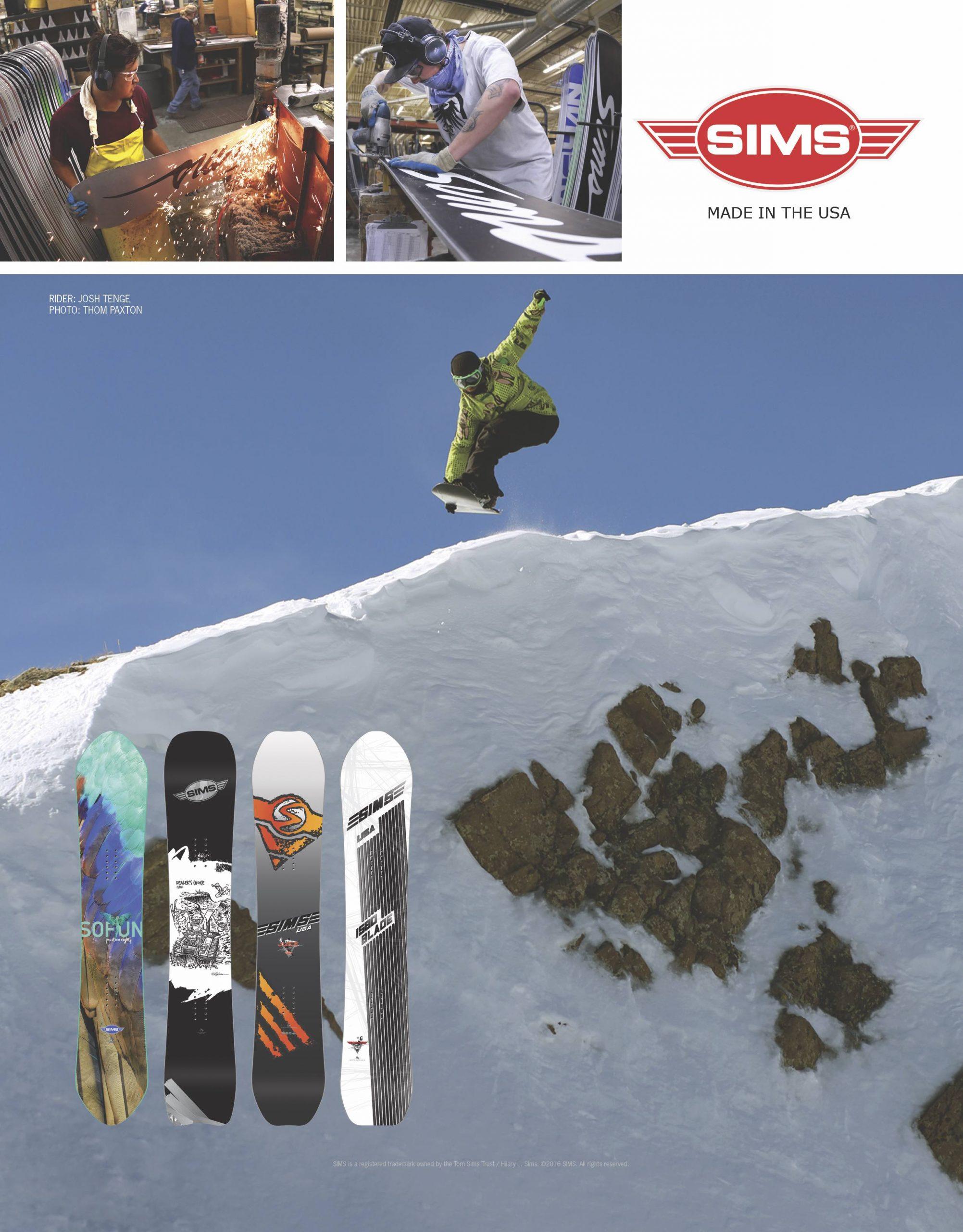 84 Sims SNOW