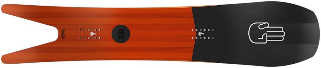 Surfer Snowboard