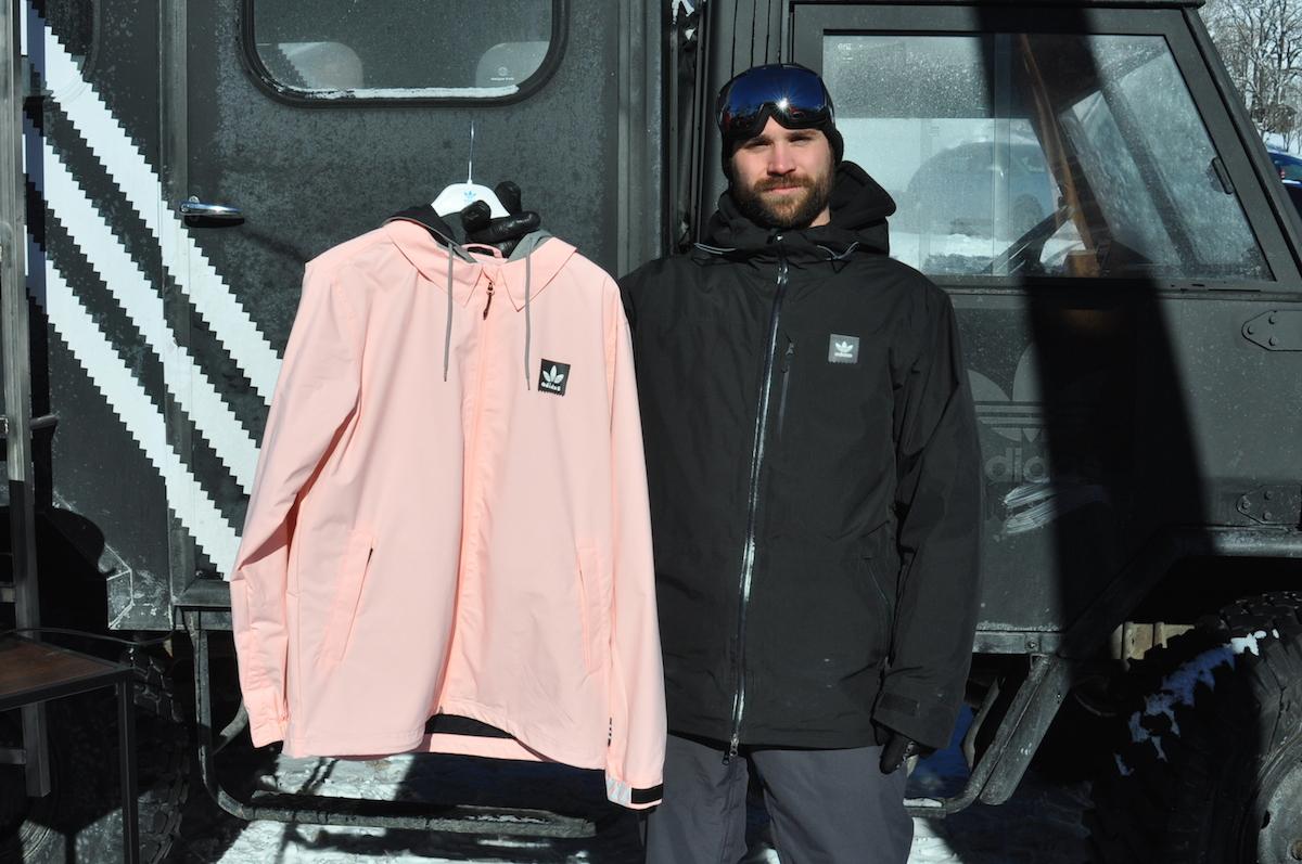 Auto microondas La playa  Adidas' Philip Schniedermeier with the Civillian jacket with Gonz design -  Boardsport SOURCE