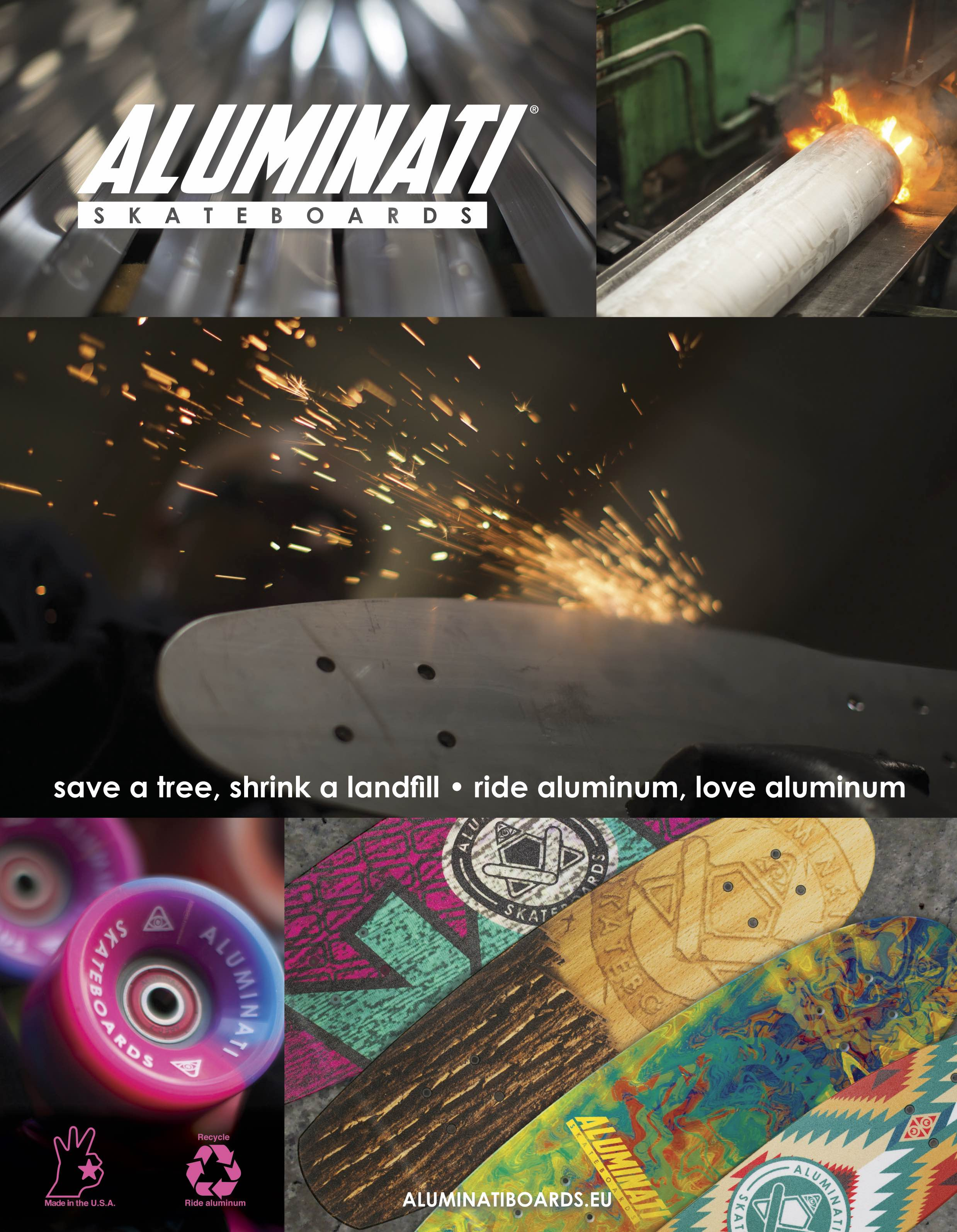 85 Aluminati SKATE