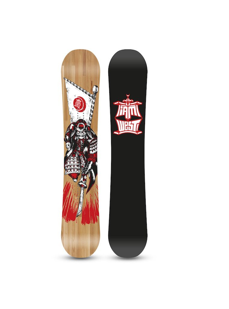 IAM x West Snowboard