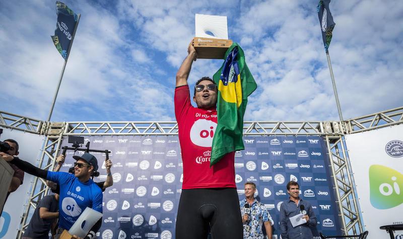 De Souza is victorious