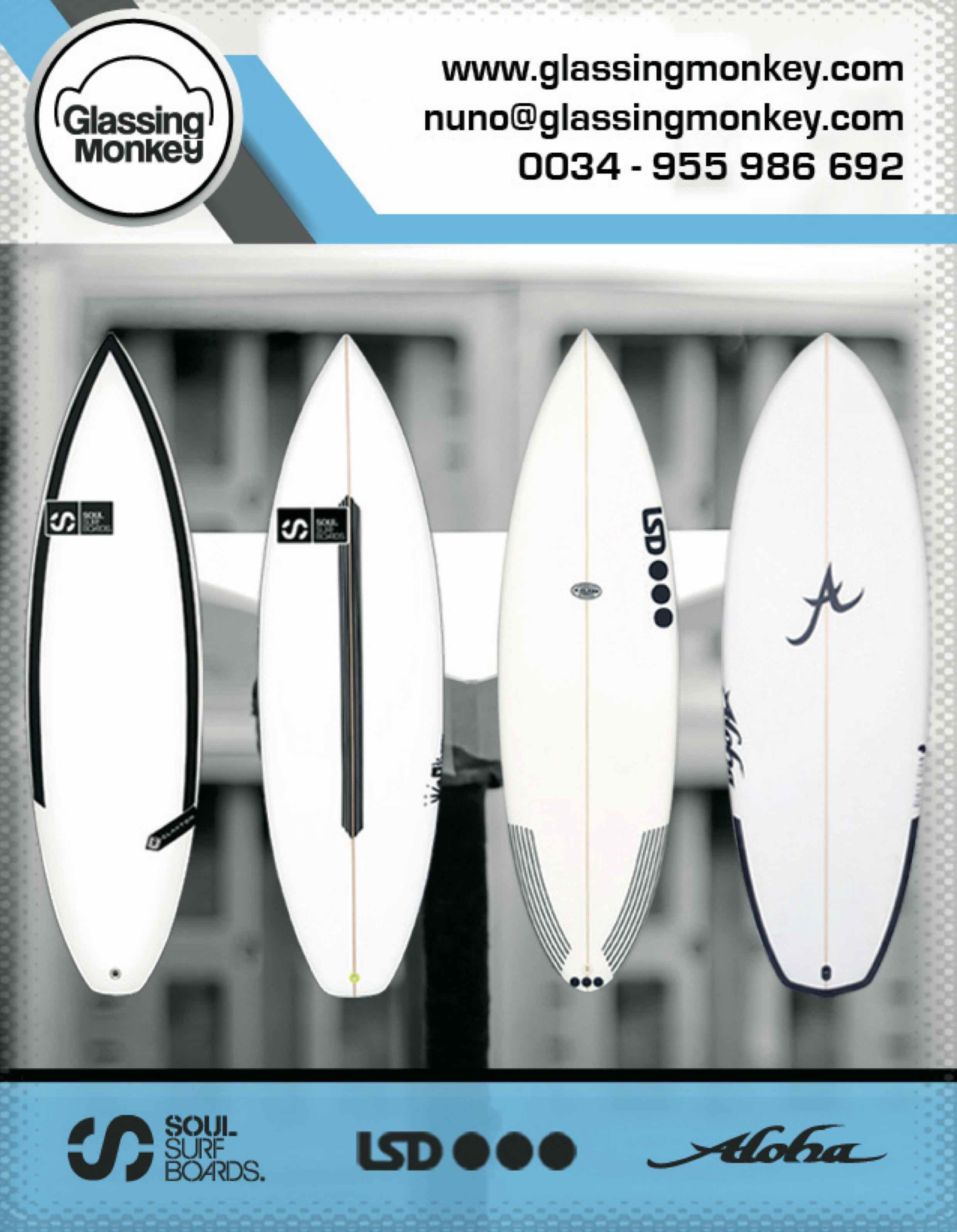 87 Glassing Monkey SURF