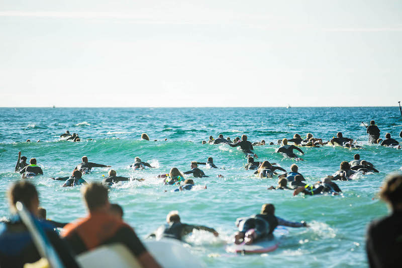 Jack ONeill Paddle Out Newquay | Photo Credit: Lewis Harrison Pinder