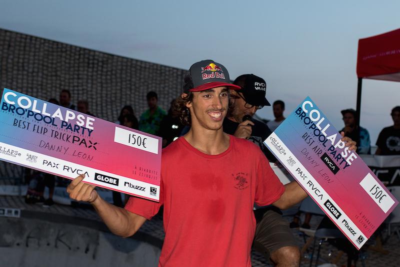 Danny both prizes