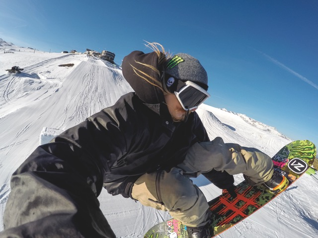 GoPro Snowboard Halldor Helgason