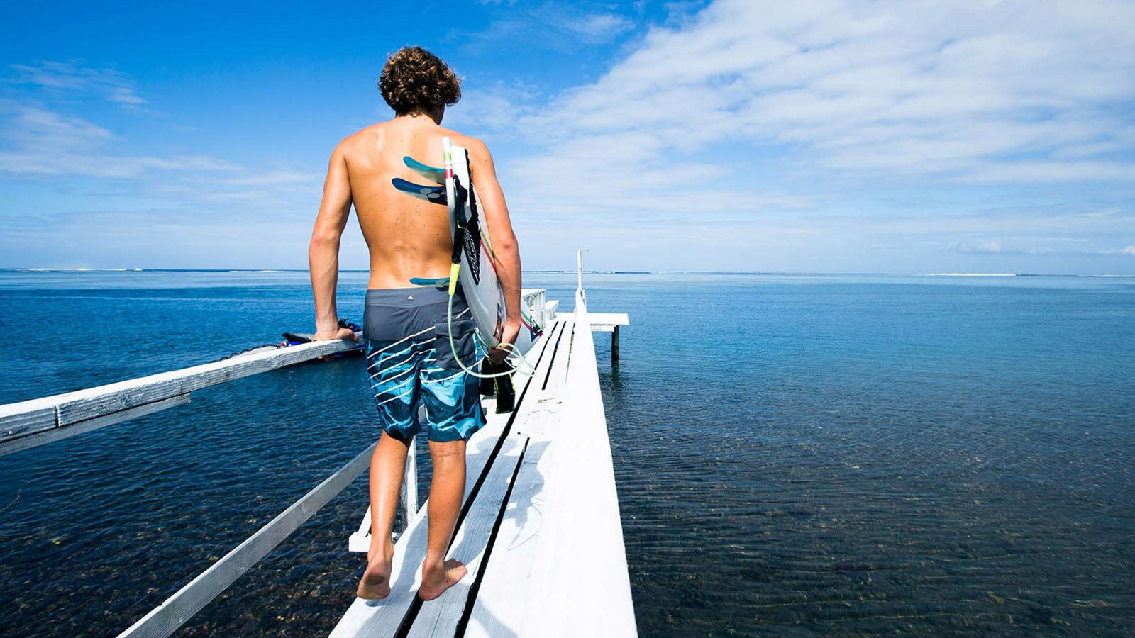 Stop in Island Water Sports for the perfect boardshorts