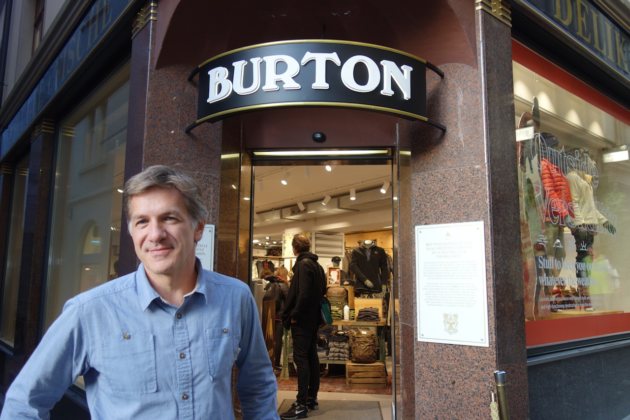 Burton's Franck Waterlot, Vice President of Sales and Marketing