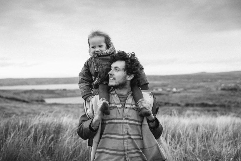 Fergal & Son. Photo Owen Tozer
