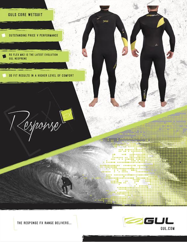 88 Gul wetsuits