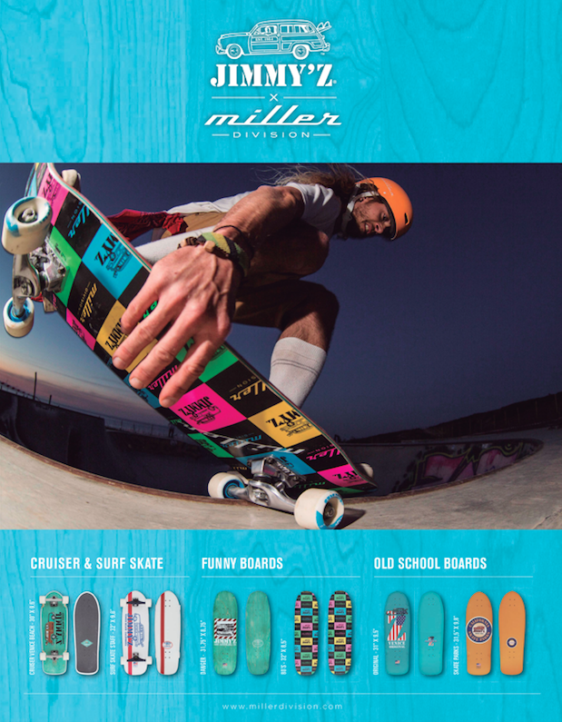 88 Miller division longboards