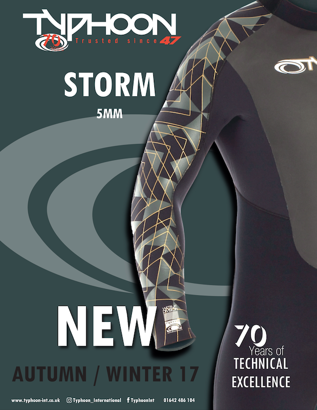 88 Typhoon wetsuits