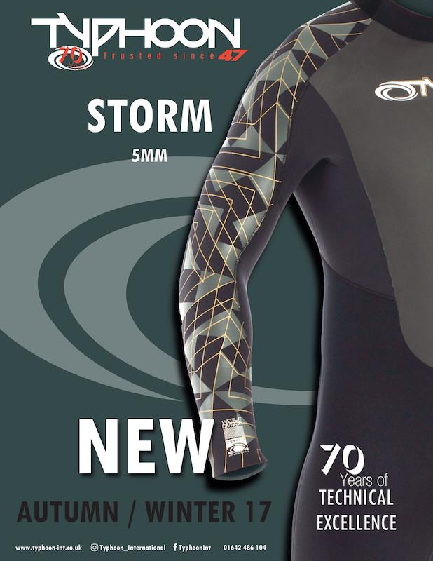 88 Typhoon wetsuits
