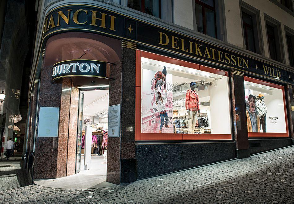 Burton Store Zurich