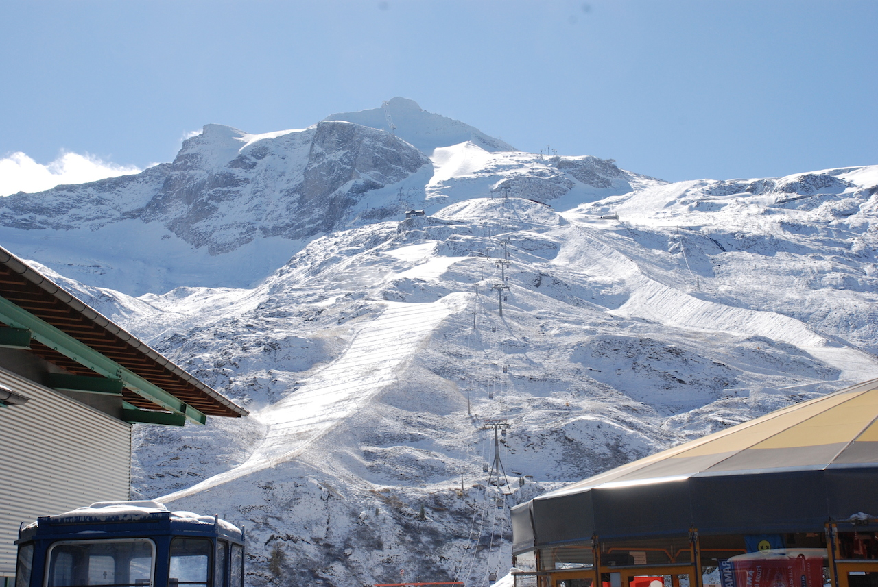 3 It's been a while since we've seen the Hintertux Glacier in such glory in the beginning of October