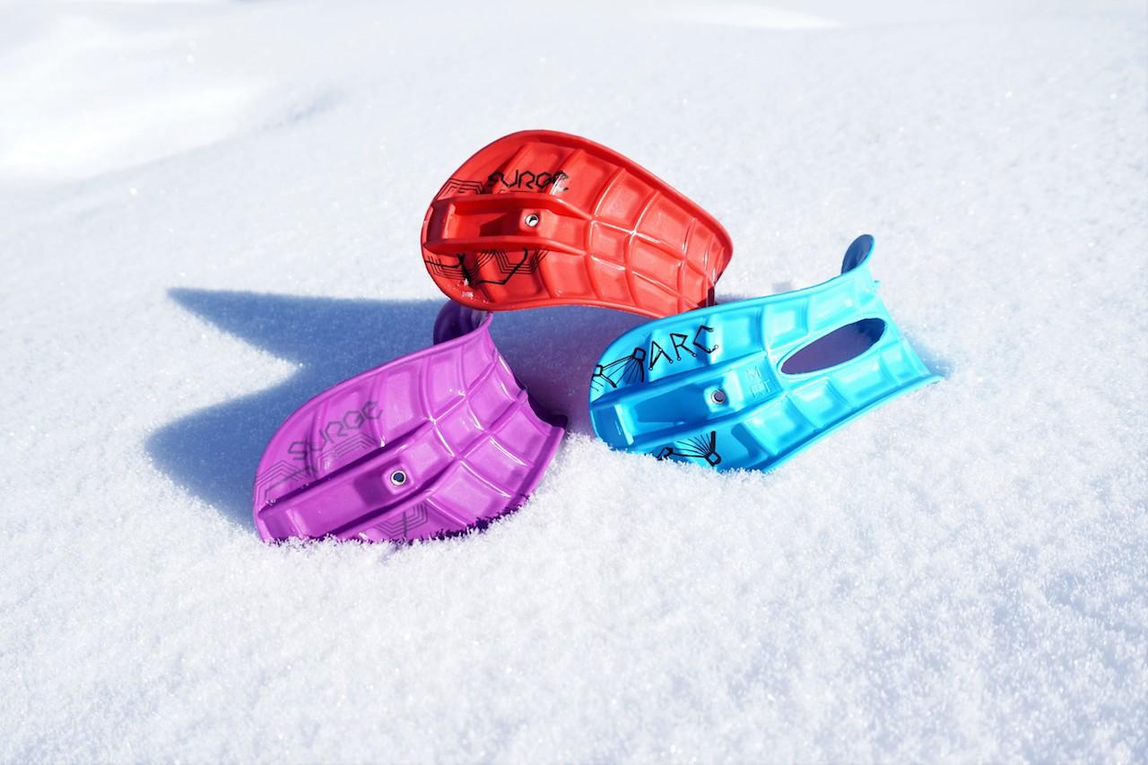 Straps in Snow