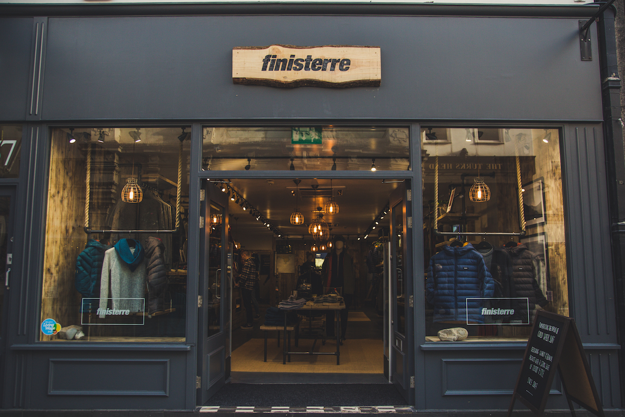 Finisterre Store Exeter