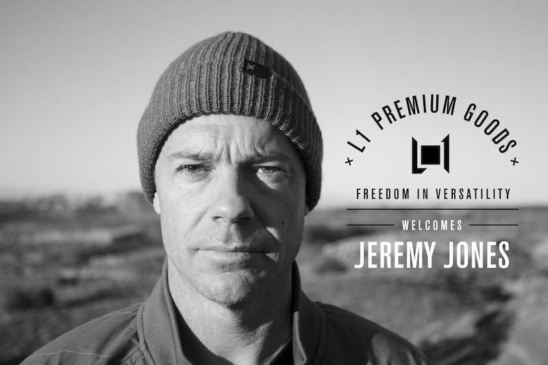 JEREMY JONES - welcome to the L1 team