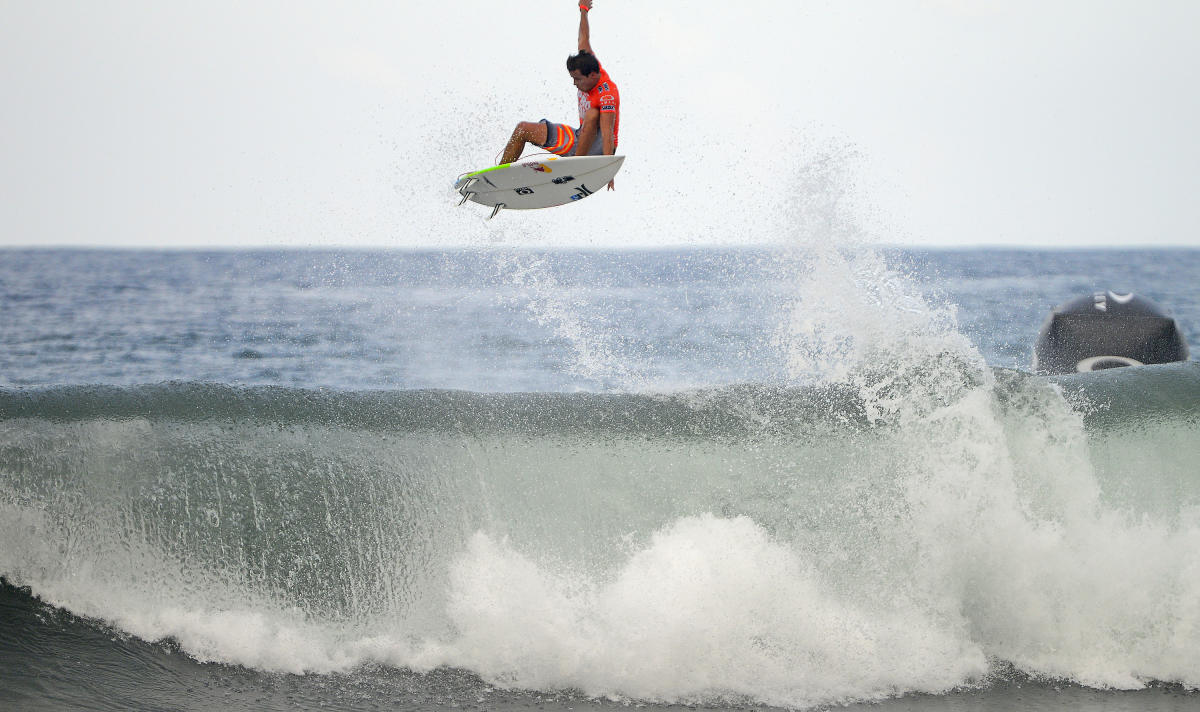 Julian Wilson at new stop on the CT, Keramas. Photo WSL