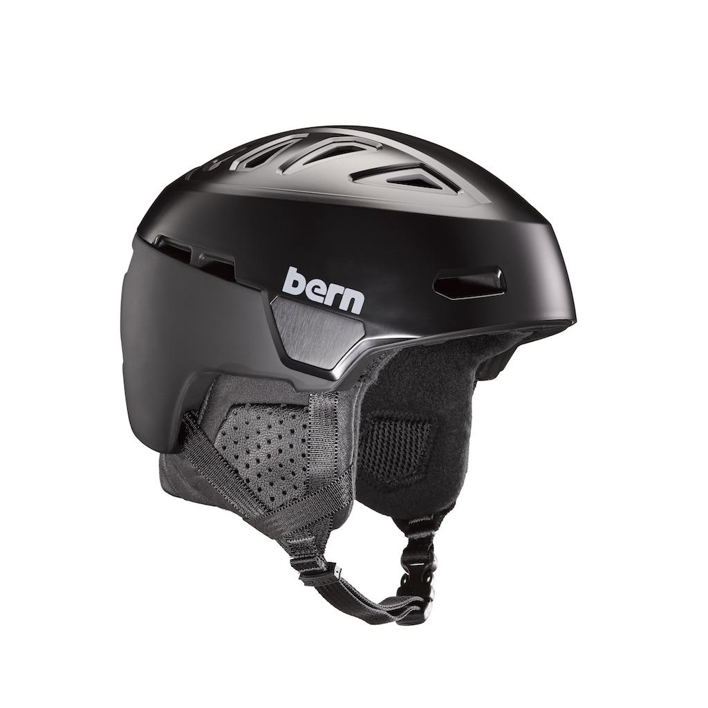 Bern Heist Snow Helmet in Black