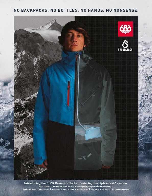 90 686 Snowboard jacket