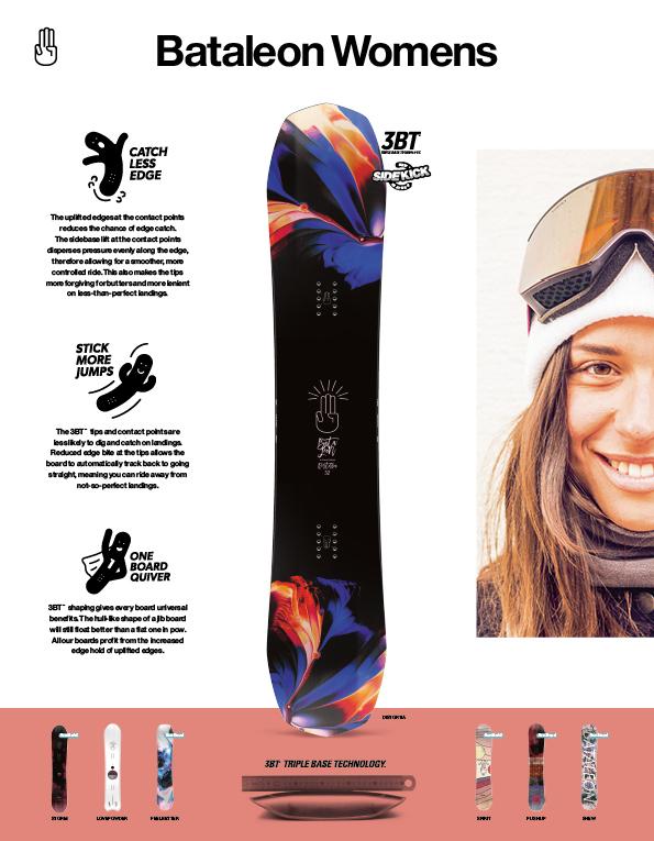 90 Bataleon Womens snowboard