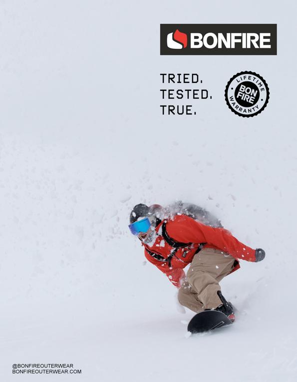90 Bonfire Snowboards