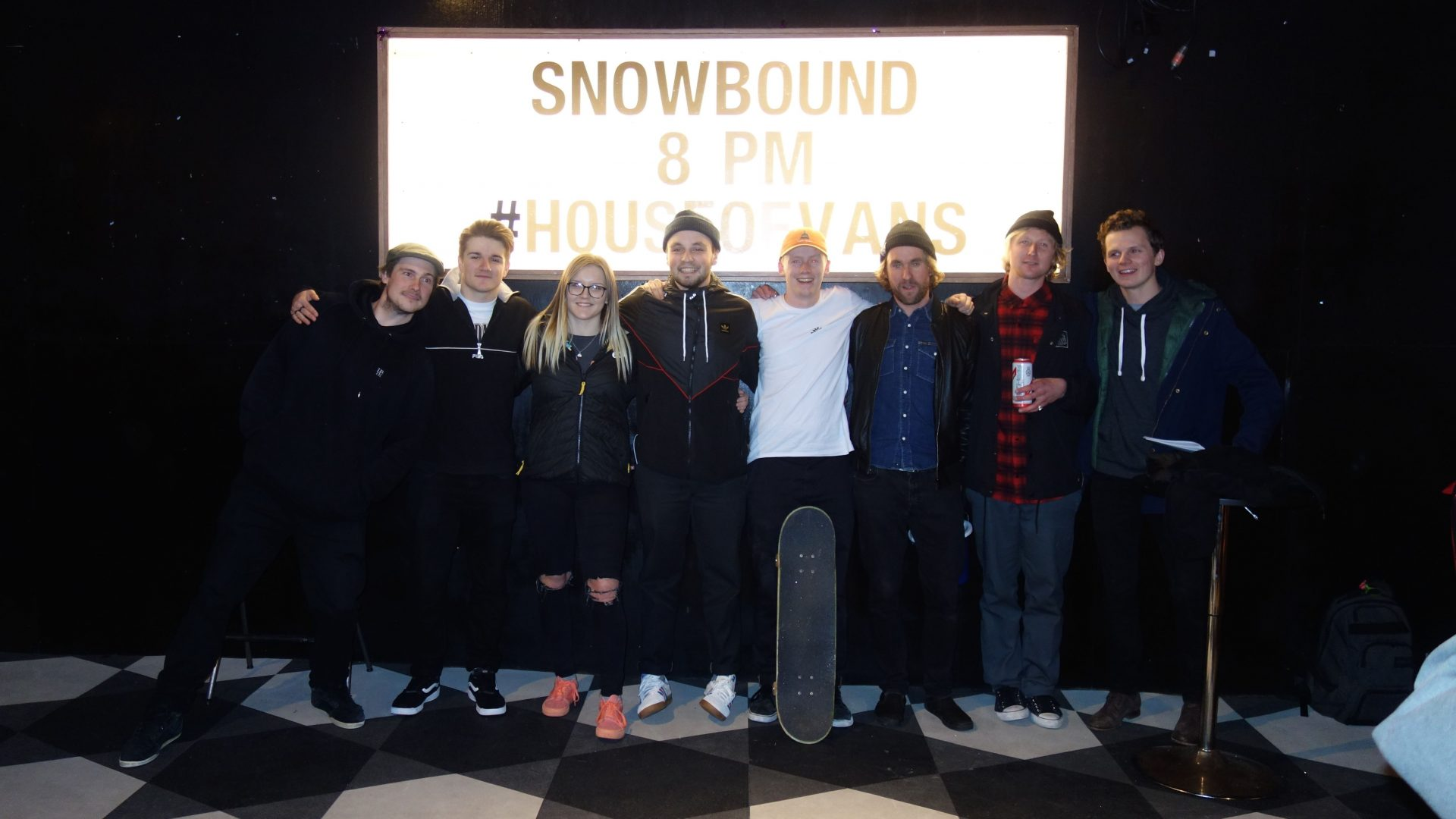 GB Park and Pipe riders, coaches and Sam Mellish