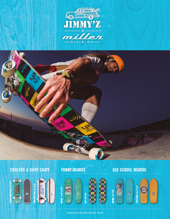 90 Miller Division Longboards