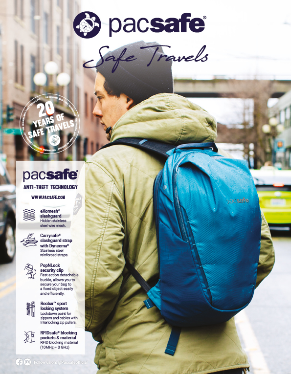 90 Pacsafe Backpack