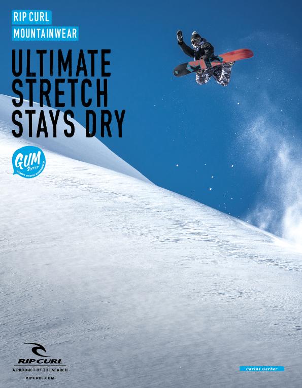 89 Rip Curl snowboard
