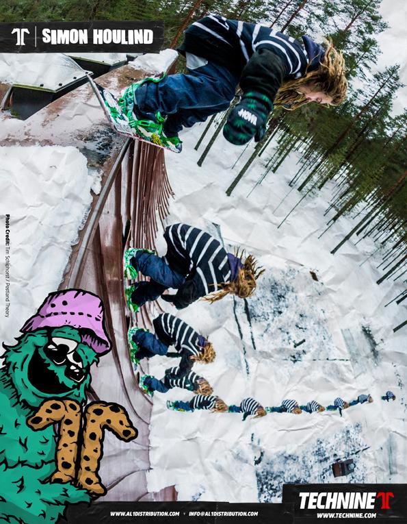 90 Technine Snowboard