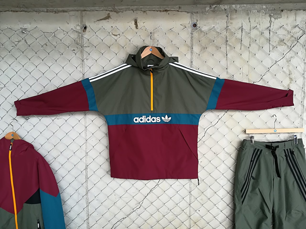 The Snow Breaker jacket is retro Adidas styling from the