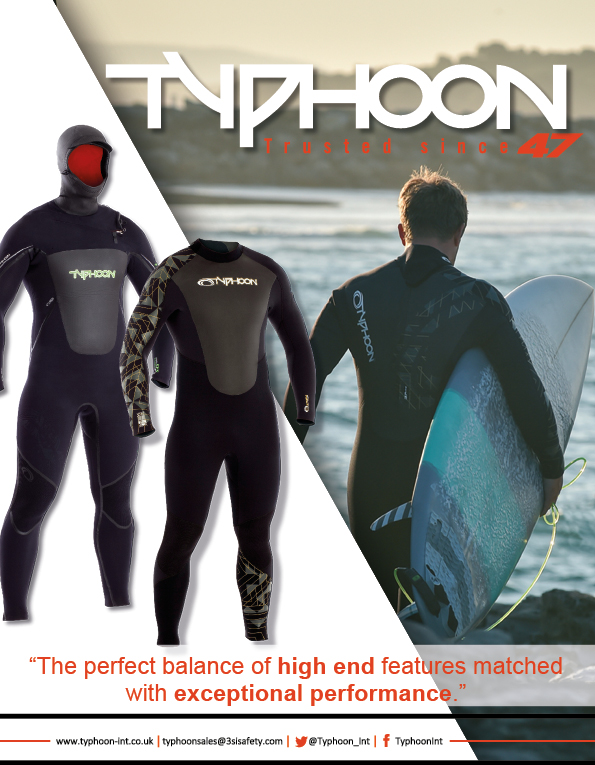90 Typhoon Wetsuits