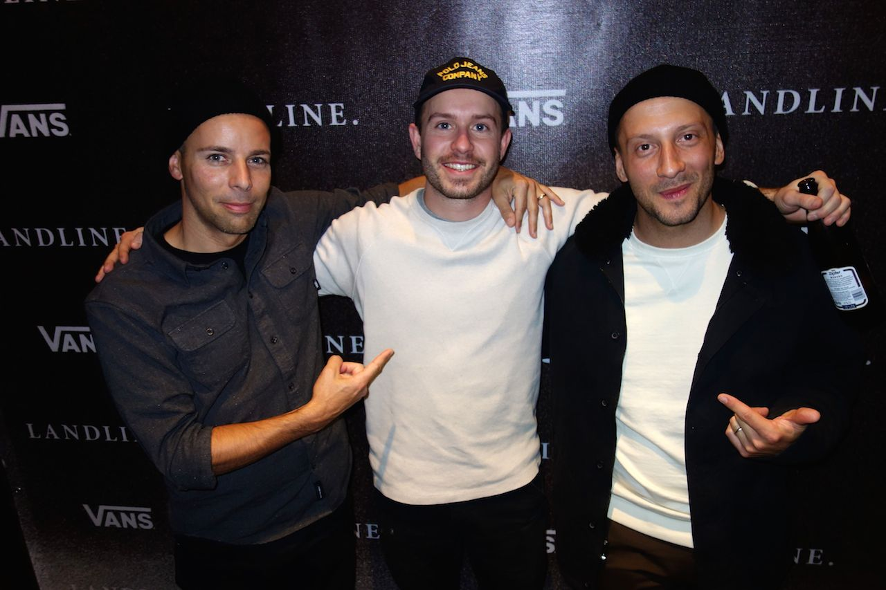 Vans' Bobby Gascon, Director Tannder Pendelton & Kevin Casillo