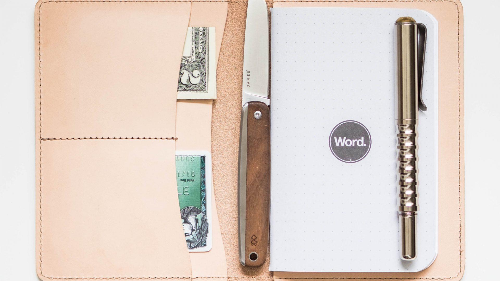 Navigator Cover + County Knife + Word + Alpha Pen
