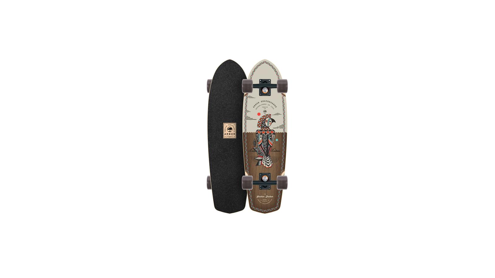 Arbor Skateboards Pocket Rocket Artist 2018