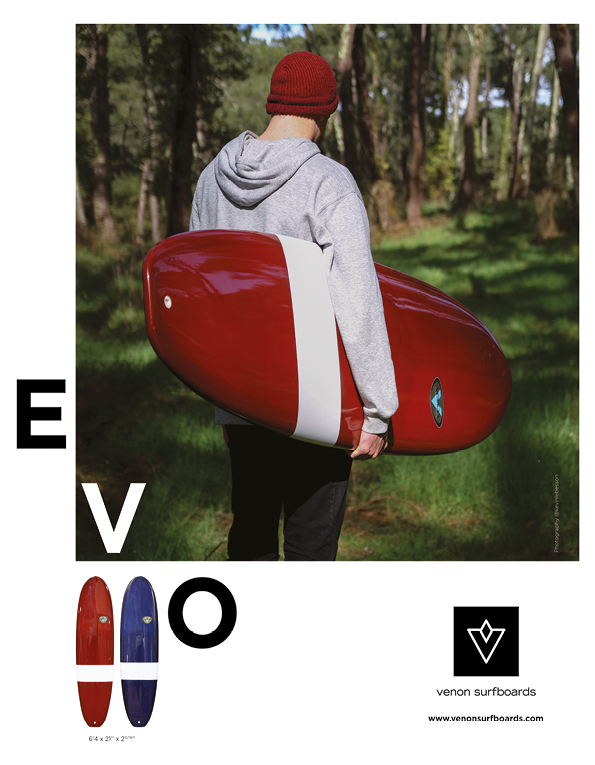 91 Venon Surfboard