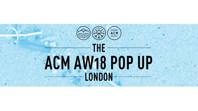 ACM London Popup