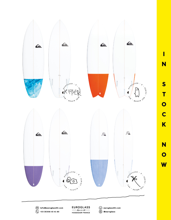 91 Euroglass Surfboards