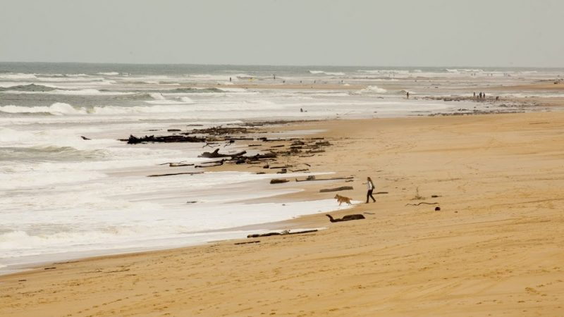 Hossegor's expansive beaches. Photo David Tchag